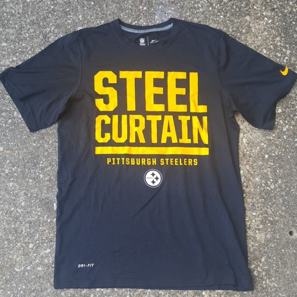 f5870d04 Nike Shirts   Steel Curtain Pittsburgh Steelers Football S   Poshmark